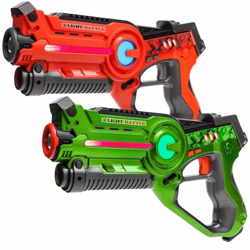 Lasergamen - 12 lasergeweren pakket