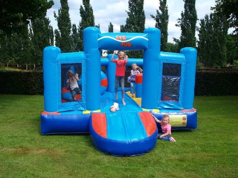 Springkussen Play Ground 4x4x2,5m
