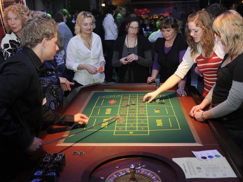 Roulette Tafel Huren : Roulette speeltafel