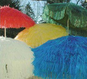 Raffia Parasol