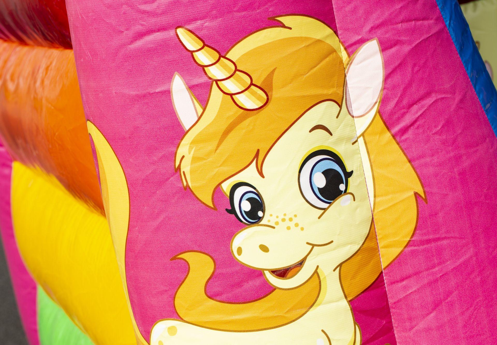 Springkussen Unicorn 3x2,5m