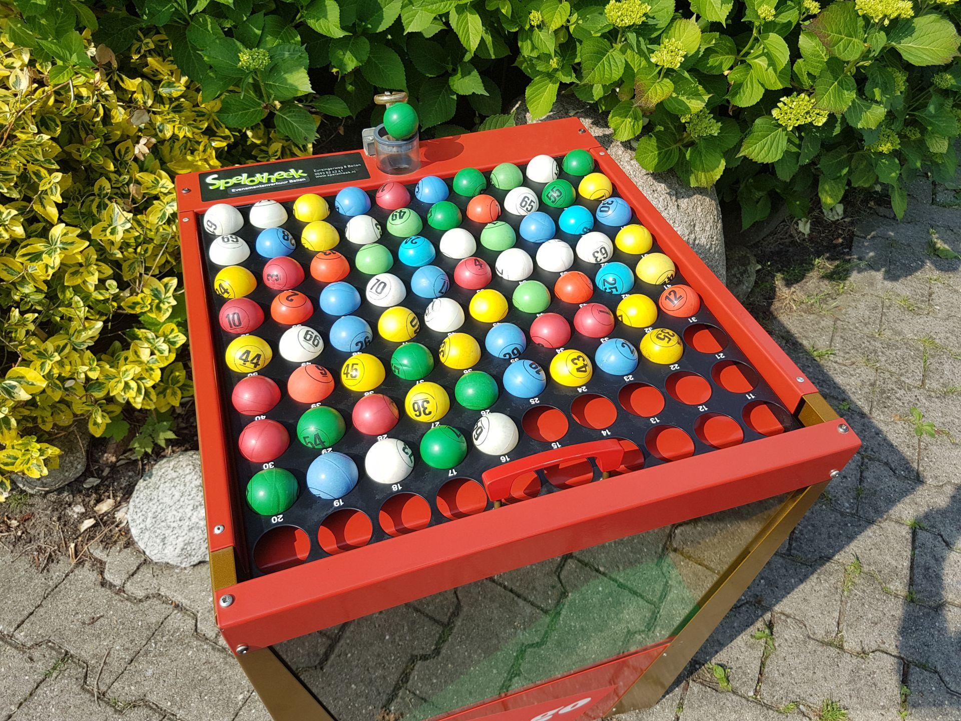 Bingo blower machine