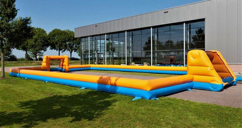 Bubbel Voetbal met Boarding 20x10m