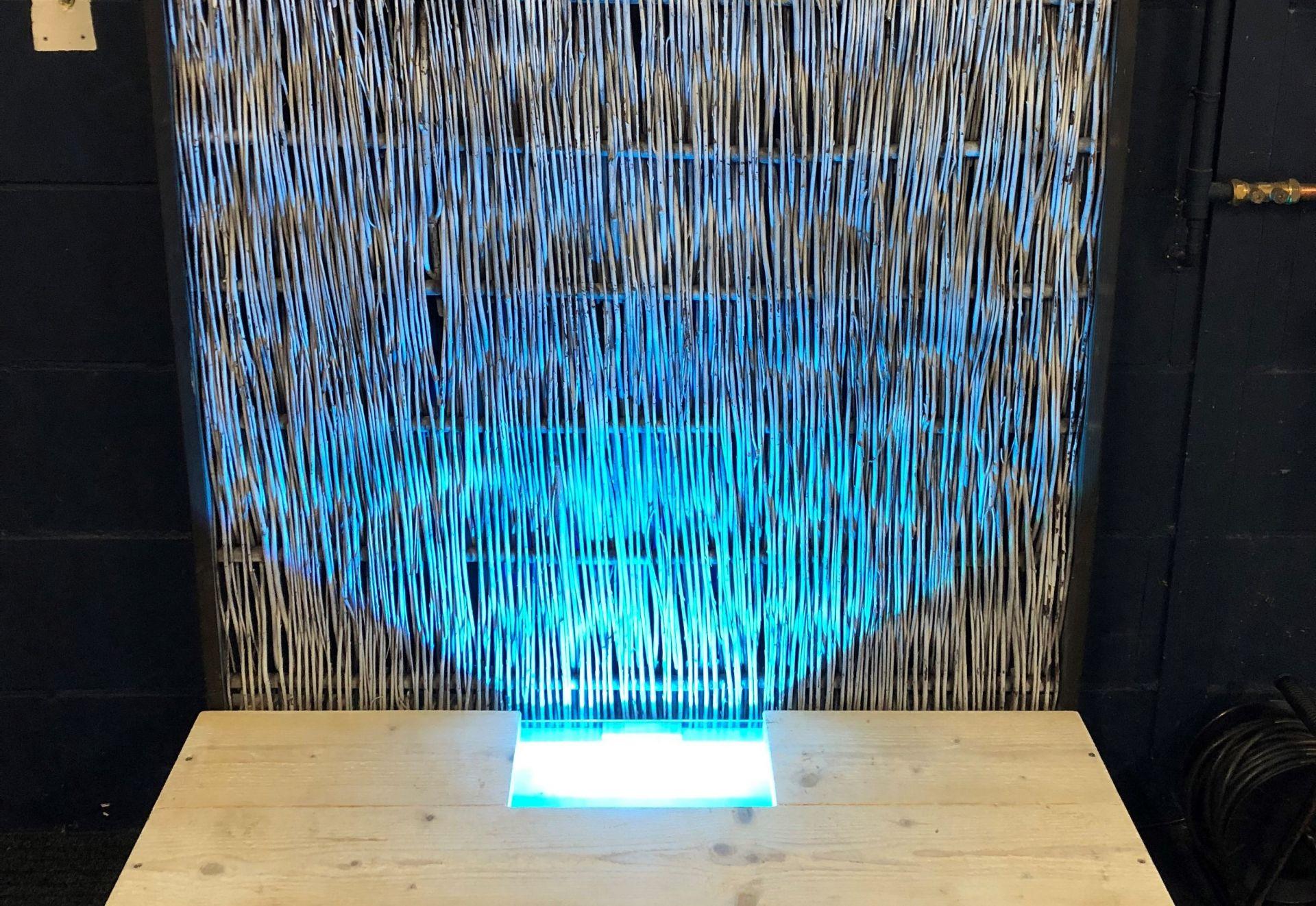 Verlichte Decoratiewand LED Scheidingswand