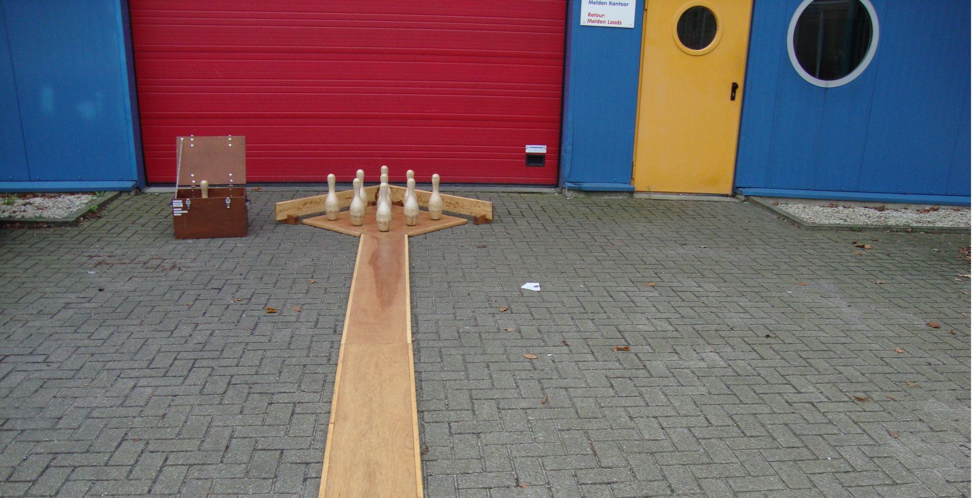 Kegelbaan 10 meter