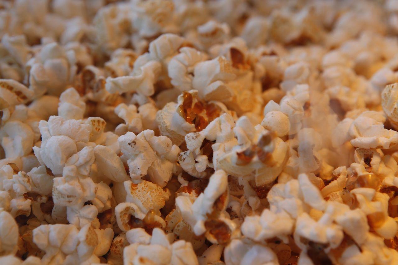 Ingrediënten voor Popcorn per 50 zakjes