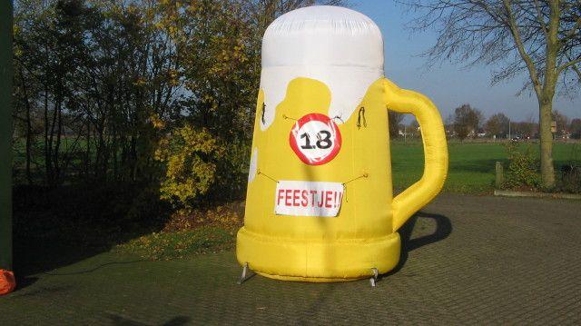 Opblaasbare Bierpul