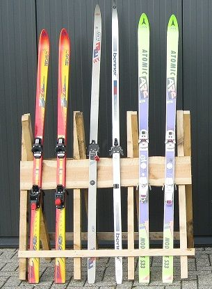 Ski-rek met Ski's