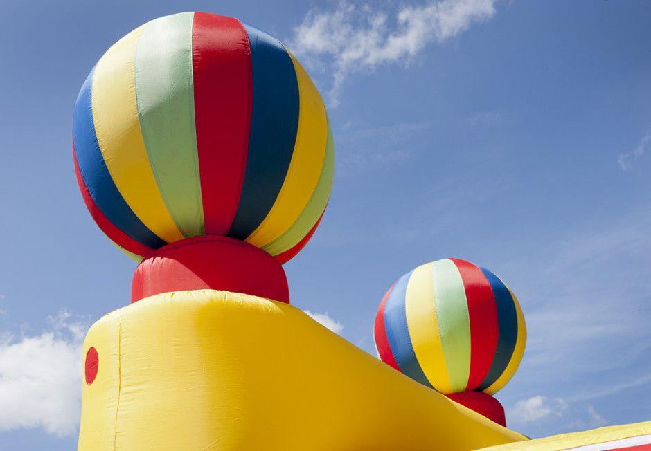 Opblaasbare Ballonstand